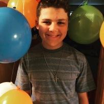 Tristan's 13th birthday