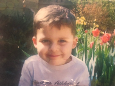 Tristan as a Pre-schooler