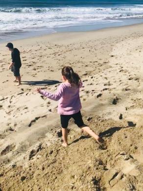 G and Tristan Oxnard Beach